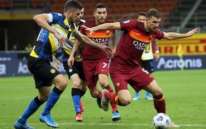 Inter-Roma 2-1 LIVE: Ranocchia salva su El Shaa