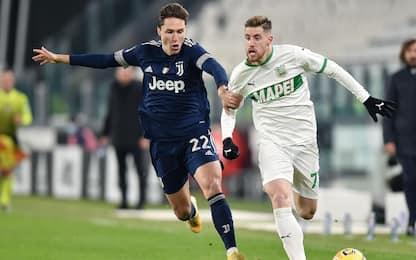Sassuolo-Juventus, le probabili formazioni