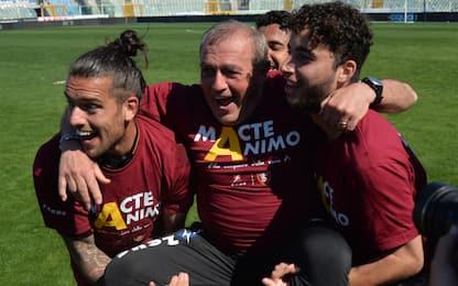 """Castori: """"Faccio il calcio di Guardiola e Klopp"""""""
