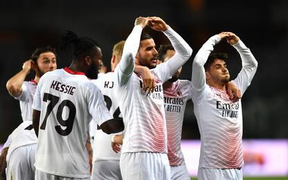 Torino-Milan 0-7 LIVE, tripletta per Rebic