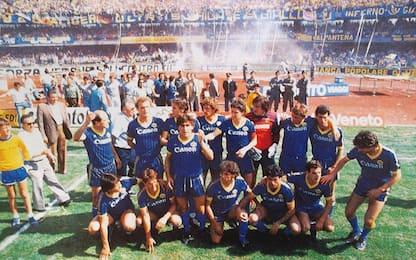 Verona, 36 anni fa l'impresa scudetto dell'Hellas