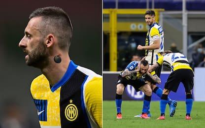 """Brozovic, il tattoo e l'esultanza """"esplosiva"""""""