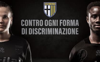 Parma, maglia speciale: no alle discriminazioni