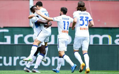 Genoa-Atalanta 2-4 LIVE: segna Pandev su rigore