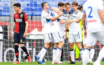 L'Atalanta è in Champions, sofferto 4-3 col Genoa