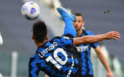Lautaro, eurogol alla Juve: ma il gioco è fermo