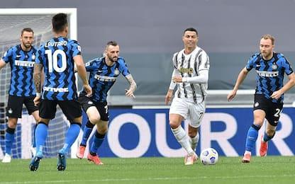 Juve-Inter 2-1 LIVE: Cuadrado ritrova il gol