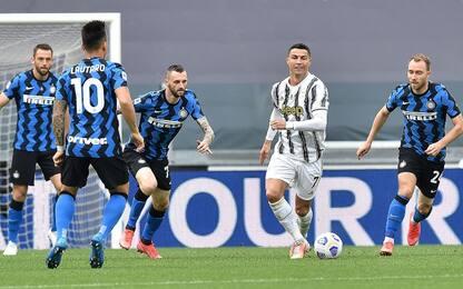 Juve-Inter 2-1 LIVE: espulso Bentancur