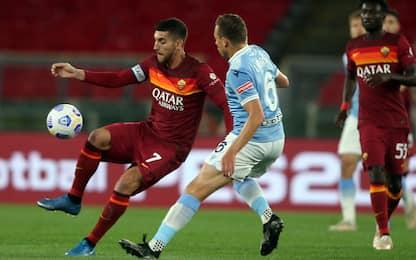 Roma-Lazio 0-0 LIVE: Fuzato super su Luis Alberto