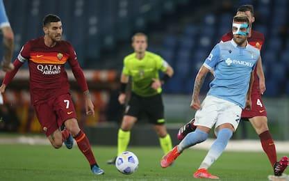 Roma-Lazio 1-0 LIVE: Cristante vicino al bis