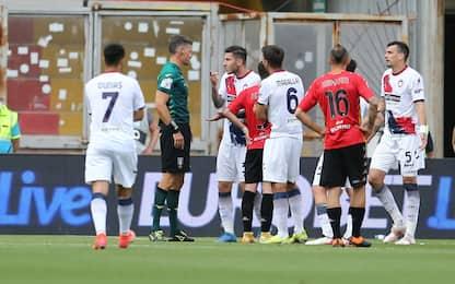 Benevento-Crotone 1-0 LIVE: Lapadula sfiora il bis