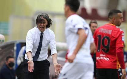 """F. Inzaghi: """"Spero nella Lazio, è l'ultima chance"""""""