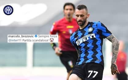 Brozo e Perisic, 'protesta social' dopo Juve-Inter