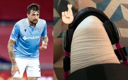Acerbi, infortunio al ginocchio e scuse