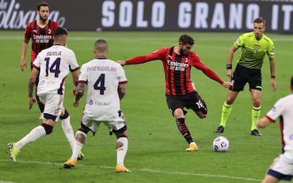 Il Milan frena a San Siro, solo 0-0 col Cagliari