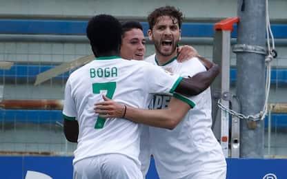 Parma-Sassuolo 1-2 LIVE, bel gol di Defrel