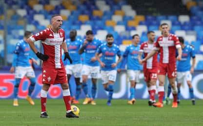 Ribery dal 1': le probabili di Fiorentina-Napoli