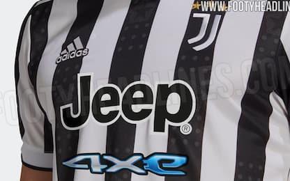 Nuova maglia della Juve, le prime foto ufficiali