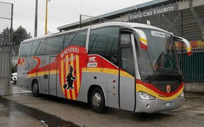 Vigorito punisce il Benevento: a Torino in pullman