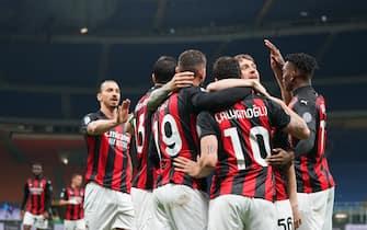 Milan vs Benevento - Serie A TIM 2020/2021
