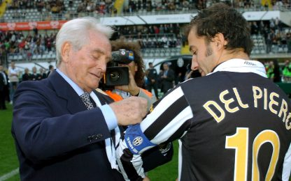 """Del Piero: """"Quando con Boniperti feci scena muta"""""""