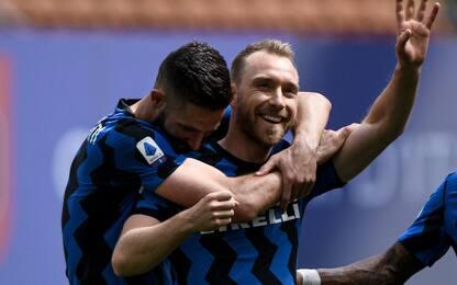 """Inter, lettera a Eriksen: """"Siamo tutti con te"""""""