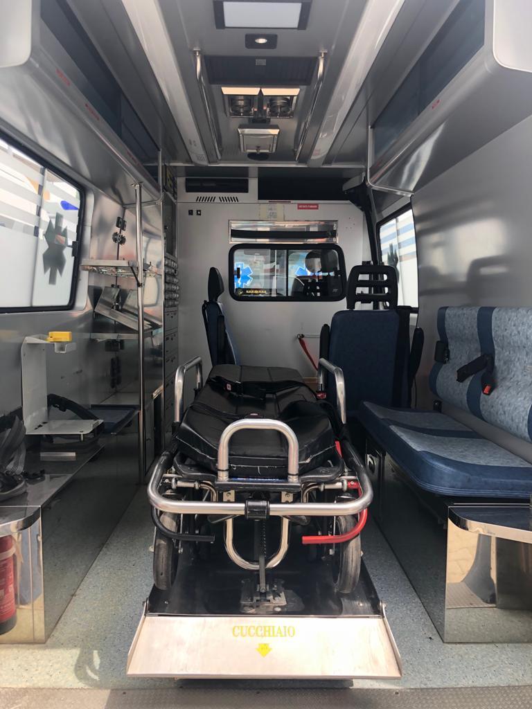 Ambulanza donata Koulibaly