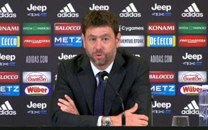 """Agnelli: """"Disponibili a dialogare con Uefa"""""""