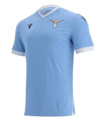 Lazio, ecco la nuova maglia casalinga per la Serie A 2021-2022 ...