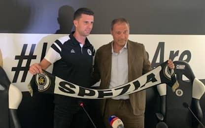 "Spezia, Thiago Motta: ""Sono nel posto giusto"""