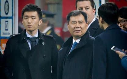 Zhang si dimette da Suning e candida figlio Steven