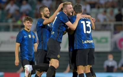 L'Inter fa 2-2 con il Lugano: poi vince ai rigori