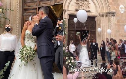 Stefano & Giulia, il matrimonio dei Sensi! FOTO