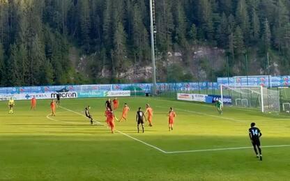 Lazio, 11 reti in amichevole al Fiori Barp Mas