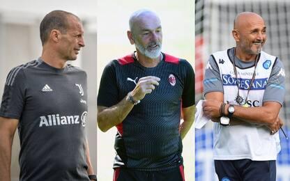 Juve, Milan e Napoli: tris di amichevoli su Sky