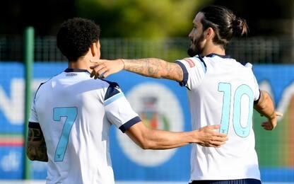 Cinquina Lazio alla Triestina: super Luis Alberto