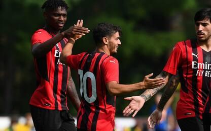 Il Milan sorride: cinque gol al Modena