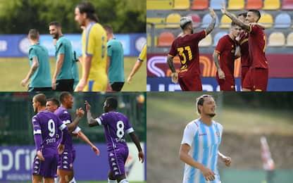 L'Inter ne fa 8, manita Roma. Vlahovic scatenato