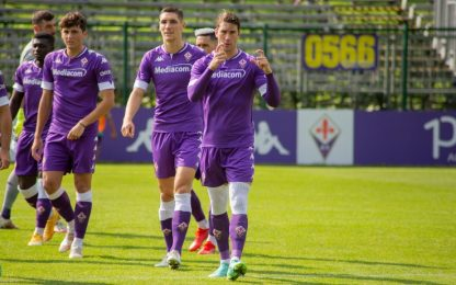 Fiorentina, 11 gol in amichevole: Vlahovic ne fa 7