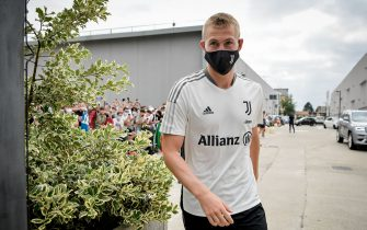 TURIN, ITALY - JULY 26: Juventus player Matthijs de Ligt during the pre season medical tests at Jmedical on July 26, 2021 in Turin, Italy. (Photo by Daniele Badolato - Juventus FC/Juventus FC via Getty Images)