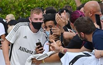 Juventus' Dejan Kulusevski at J Medical Center, Turin, 26 luglio 2021. ANSA/ ALESSANDRO DI MARCO