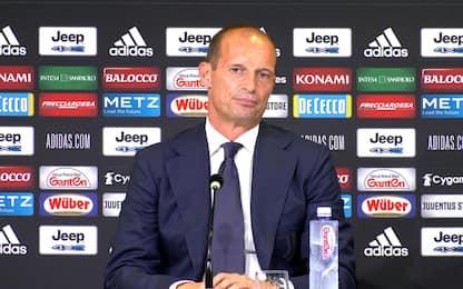"""Allegri: """"Obiettivo scudetto, ma Inter favorita"""""""