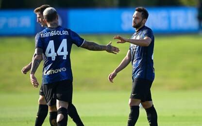 L'Inter batte 6-0 il Crotone: Calha gol e 3 assist