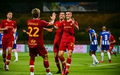Fallacci, rissa e buona Roma: col Porto è 1-1