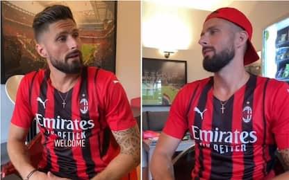 Giroud parla milanese: l'auto intervista da ridere