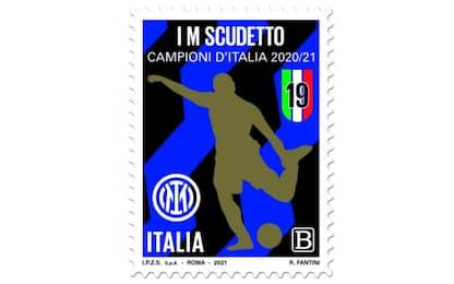 Inter, un francobollo per celebrare lo scudetto