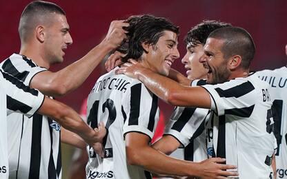 Ranocchia e Kulusevski, festa Juve: 2-1 al Monza