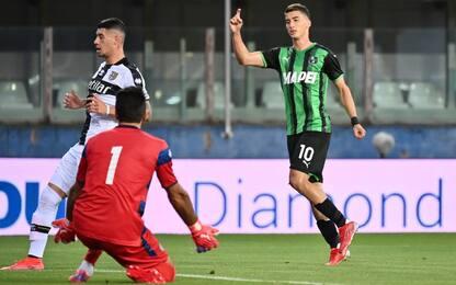 Il Sassuolo batte il Parma 3-0: scatenato Djuricic