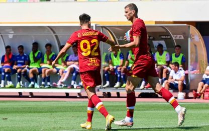 La Roma vince in rimonta: Belenenses battuto 3-1