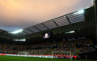 UDINE, ITALY - SEPTEMBER 01:  A general view inside the Stadio Friuli before the Serie A match between Udinese Calcio and Parma Calcio at Stadio Friuli on September 1, 2019 in Udine, Italy.  (Photo by Alessandro Sabattini/Getty Images)